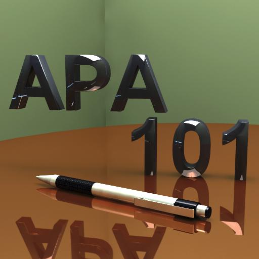 apa style 101 app icon